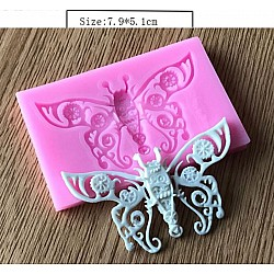 Butterfly Silicon Clay Mold