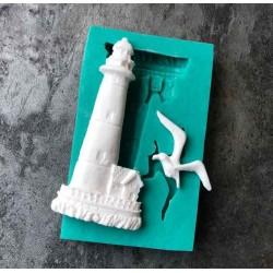 Lighthouse Silicon Clay Mold