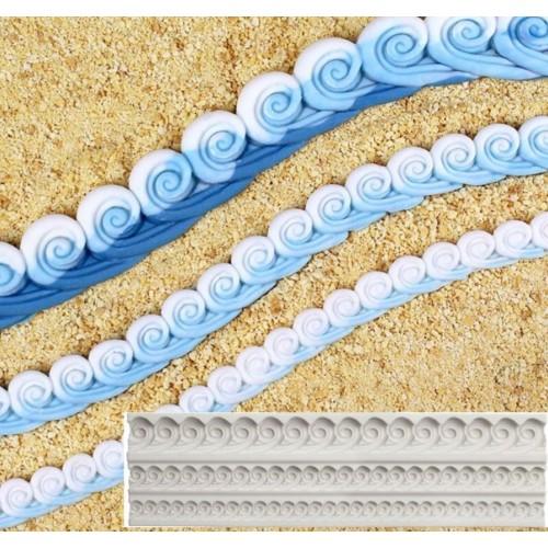 Waves Silicon Clay Mold