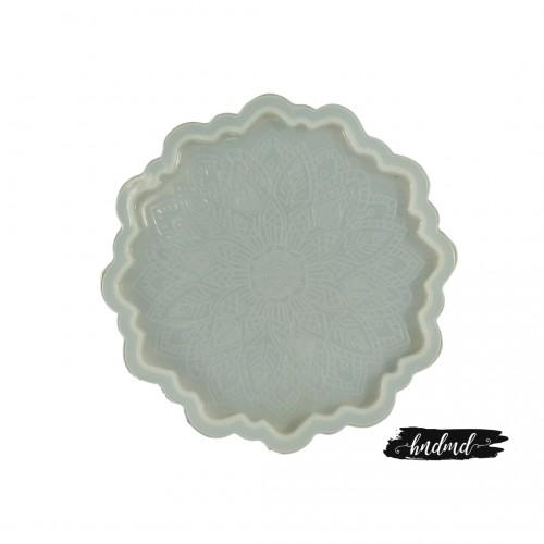 Mandala Coaster Resin Silicone Mould