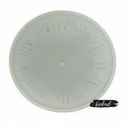 12 inch Roman Numbers Clock Silicone Resin Mould