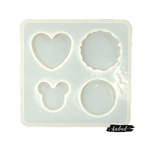 Pop Socket Resin Silicone Mould