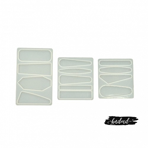 Hair Pins Resin Silicone Mould (Set of 3)