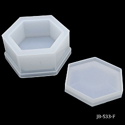 Silicone Jewellery Box Moulds (Base and Lid) (JB-533-F)