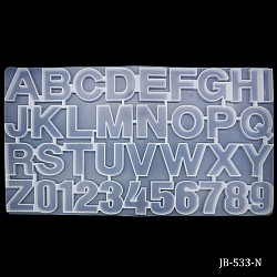 Alphabets and Numbers Silicone Moulds