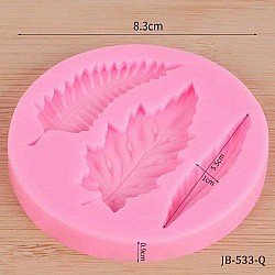 Leaves Silicon Clay Mold