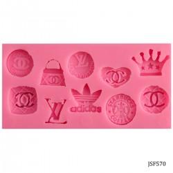 Brand Logos Silicone Clay Mold