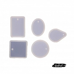 Different Pendants Silicone Jewellery Mould