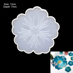 Flower Coaster Silicone Mould
