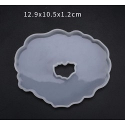 Designer Agate or Geode Silicone Resin Mould