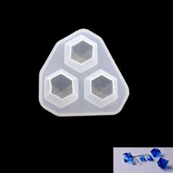 Diamonds Silicone Jewellery Mould (RAWS-187)