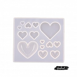 Lots of Hearts SIlicone Mould