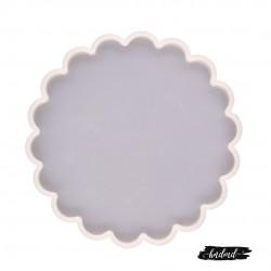Scalloped Circle Silicone Mould (RAWS-200)