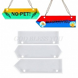 Door name plate Silicone Clay Mould - Design 1