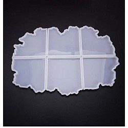 Agate Shaped Coaster Moulds (6 coasters)
