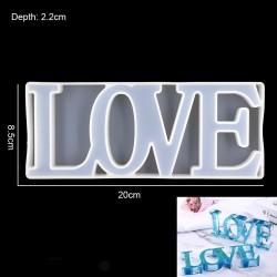 Love Silicone Mould (RAWS-249)