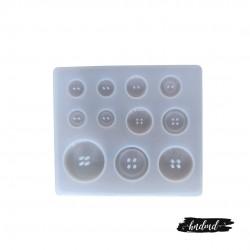 Button Silicone Mould