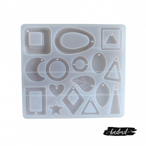 Different Pendants Silicone Jewellery Mould (RAWS-204)