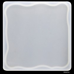 Agate Coaster Silicon Clay Mould (SMAC01)