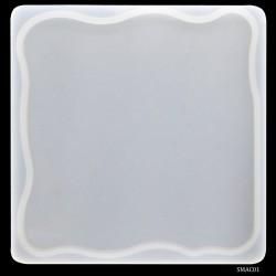 Agate Coaster Silicone Mould (SMAC01)
