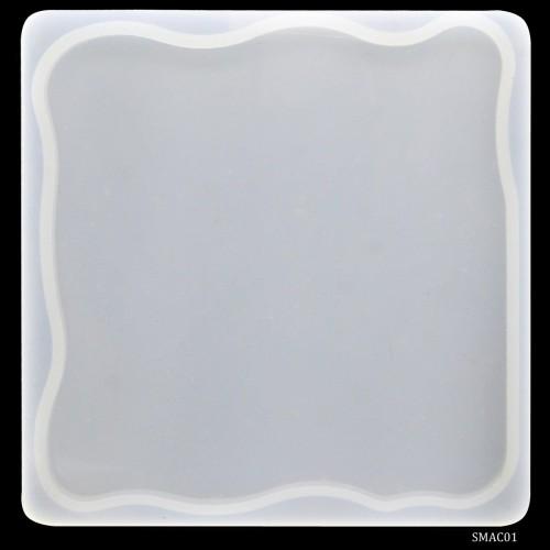 Agate Coaster Silicon Clay Mould (SMAC01)