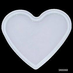 Heart Coaster Silicon Clay Mould