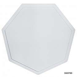 Heptagon Coaster Silicon Clay Mould