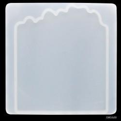Agate Coaster Silicon Clay Mould (SMA00)