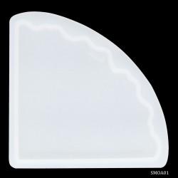 Agate Coaster Silicone Mould (SMA01)