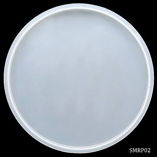 6 inch Round plate Silicone Mould