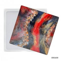 6 inch Square plate Silicone Mould