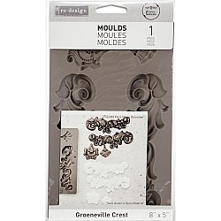 Prima Re-Design Decor Mould - Groeneville Crest