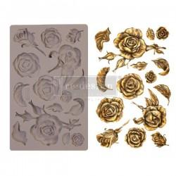 """Prima Marketing Re-Design Mould 5"""" X 8"""" - Fragant Roses"""