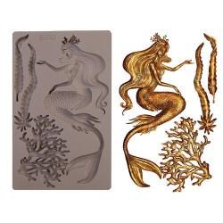 Iron Orchid Designs Vintage Art Decor Mould - Sea Maven
