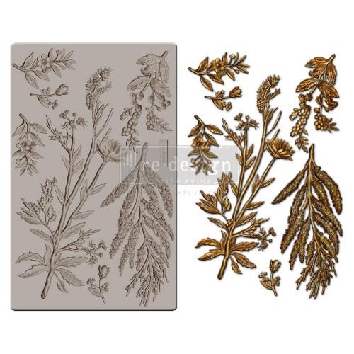 Iron Orchid Designs Vintage Art Decor Mould - Herbology