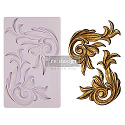 Iron Orchid Designs Vintage Art Decor Mould - Antique Scrolls