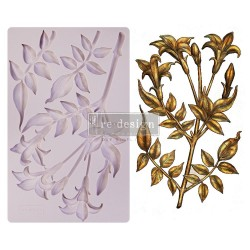 """Prima Marketing Re-Design Mould 5"""" X 8"""" - Lily Flowers"""