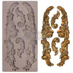 "Prima Marketing Re-Design Mould 5"" X 10"" - Delicate Floral Strands"