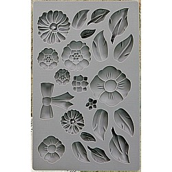 Iron Orchid Designs Vintage Art Decor Mould - Rustic Fleur