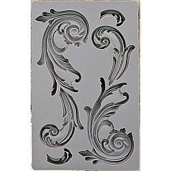 Iron Orchid Designs Vintage Art Decor Mould - Large Flourish