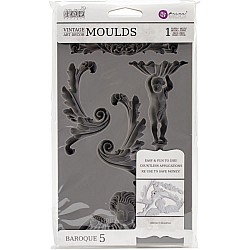 Iron Orchid Designs Vintage Art Decor Mould - Baroque 5