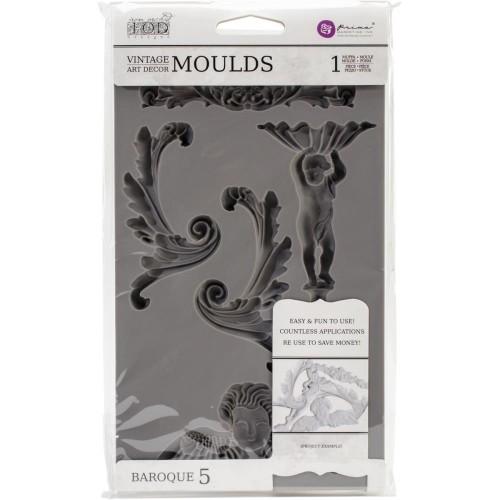 Iron Orchid Designs Vintage Art Decor Mould - Baroque 5