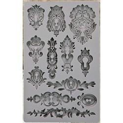 Iron Orchid Designs Vintage Art Decor Mould - Keyholes