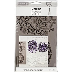 Prima Re-Design Decor Mould - Kingsbury Medallion