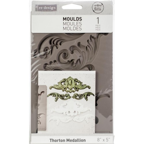 Prima Re-Design Decor Mould - Thorton Medallion