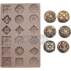"Prima Marketing Re-Design Mould 5""X8""X8mm - Curio Trinkets"