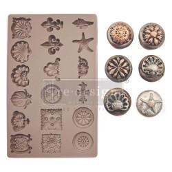 "Prima Marketing Re-Design Mould 5""X8""X8 mm - Seashore Treasures"