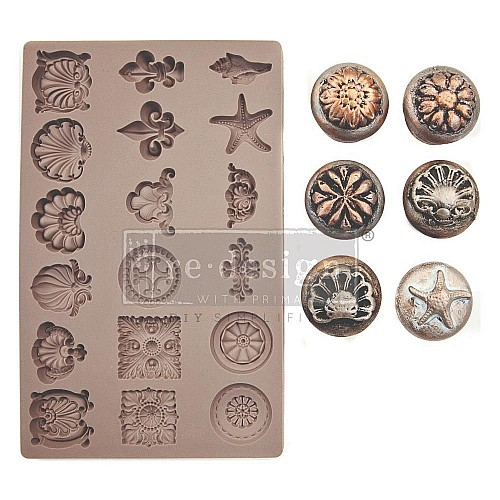 "Prima Marketing Re-Design Mould 5""X8""X8 mm - Seashore Treasures"