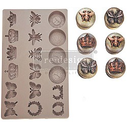 Iron Orchid Designs Vintage Art Decor Mould - Regal Findings