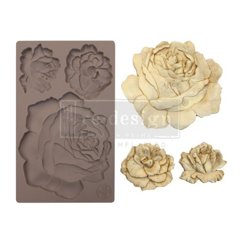 Prima Marketing Re-Design Mould - Etruscan Rose
